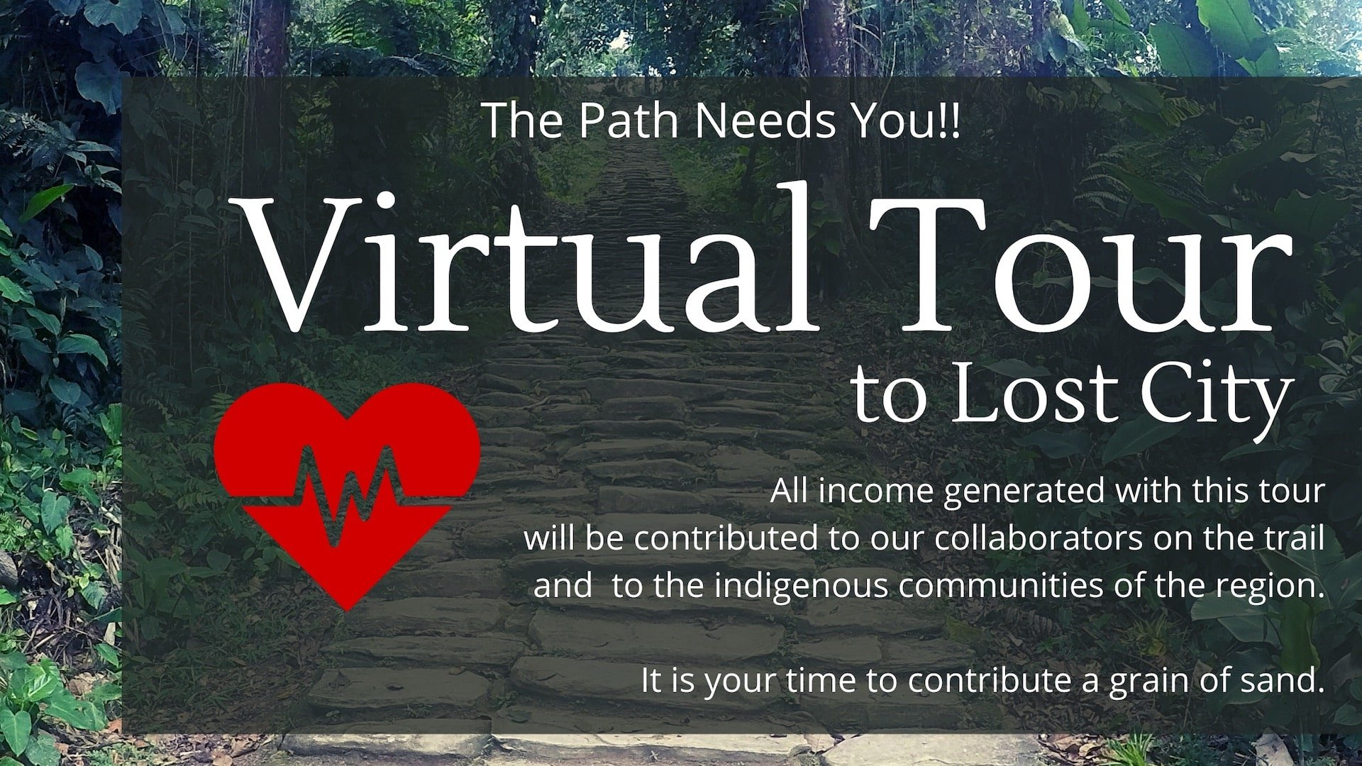 Virtual Tour to the Lost City trek